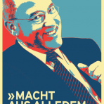 "Plakat Gregor Gysi: ""Macht aus alledem was draus!"" (A1, 4-farbig)"
