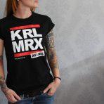 "T-Shirt ""KRL MRX"" tailliert"